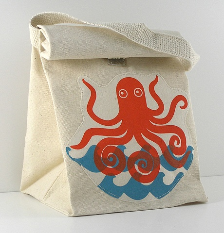 Octopus Lunch In Style Lunch Tote
