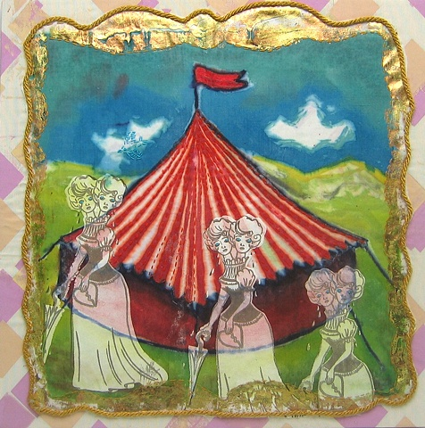 Circus Freak Wall Hanging 2