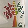 Rainbow Heart Tree Tote Market Bag