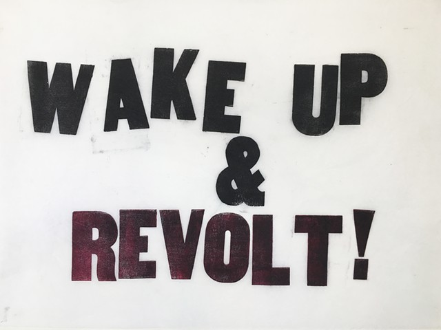 WAKE UP & REVOLT