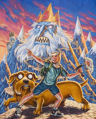 choose your own adventure time gallery1988 gallery 1988 g1988 acrylic painting by stephen andrade