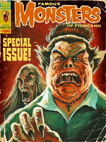 A (Mostly) True Story by Stephen Andrade Famous Monsters Of Filmland Tales From The Acker-Mansion