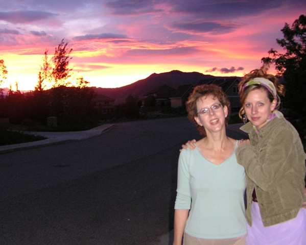 """""""With my mom in Wenatchee"""""""