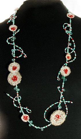 """""""Poppy Blooms Necklace"""""""
