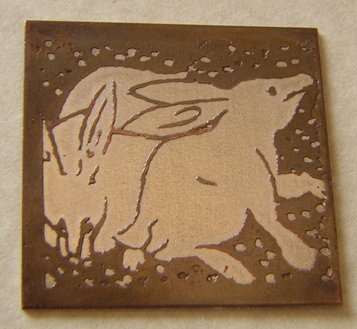 """""""Etched Rabbits"""""""