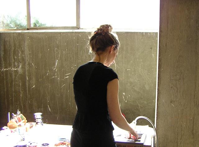 """""""In my sunny studio at WSU"""""""