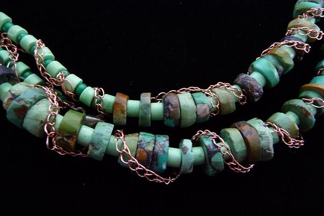 prisha brown wire crochet jewelry entwine
