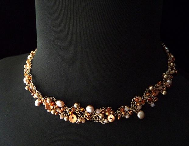 Bronze Summer Glow Necklace