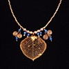 """Aspen Leaf Necklace"""