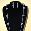 """Hawaiian Holiday"" Necklace and Earring set"