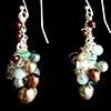 """Tuscany Cluster Earrings"""