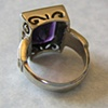 Amethyst Ring (back view)