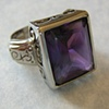Amethyst Ring (front view)