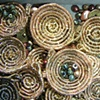 Coiled Basket close up view