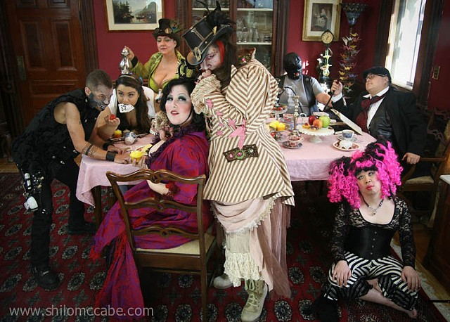 Twisted Tea Party, IMsL/IMsBB promotional photo shoot