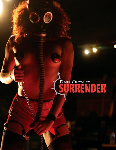 Tearsheet, Dark Odyssey Surrender program book cover