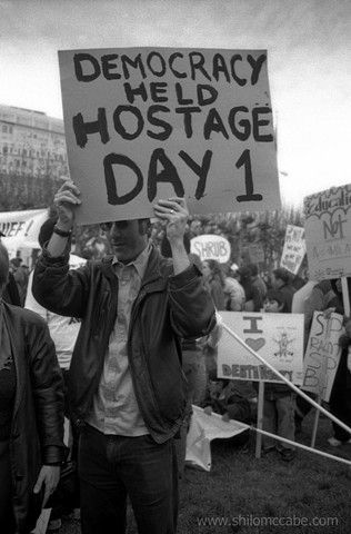 Democracy Held Hostage: Day 1 Inaugural Protest, San Francisco