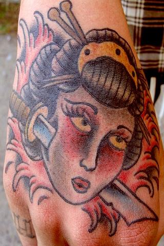 Geisha head