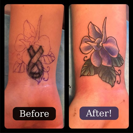 Little Wrist Cover-up