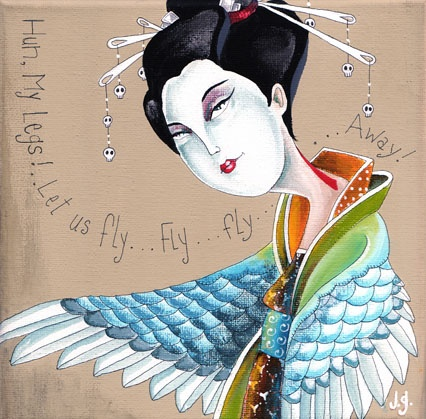 Geisha bird