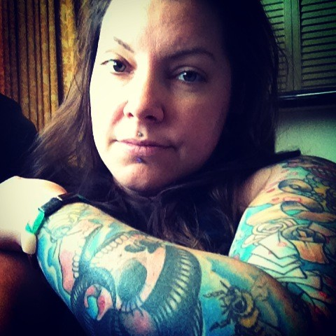 my tattoo selfie :)