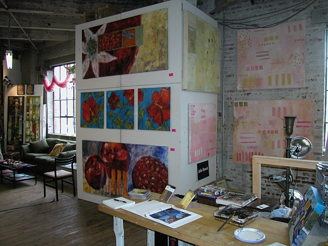 More work at Open Studio 2004