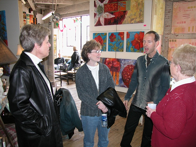 Friends at Open Studio Fall 04