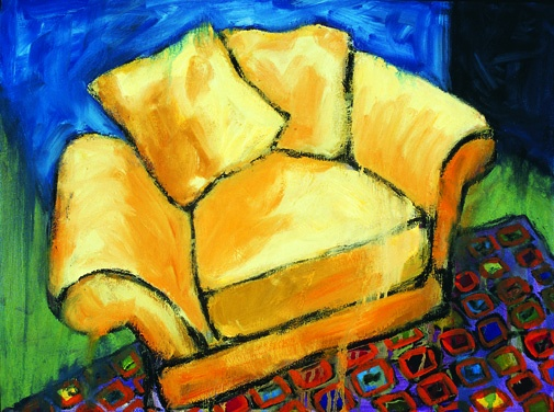 Yellow Chair #1