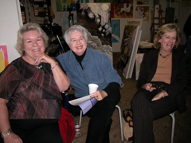 My mom, friend Ella and Aunt Mary Jean
