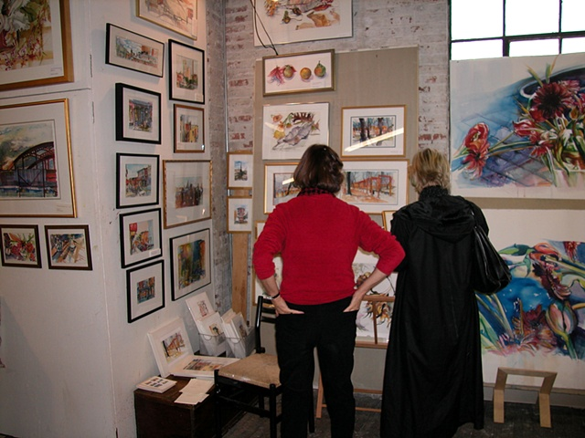 Martha Dougherty's artwork - studio 2005