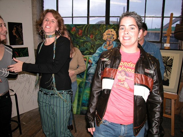 Joan & Mare Open Studio Fall 2005