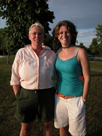 Marie-José and Joan in Montreal