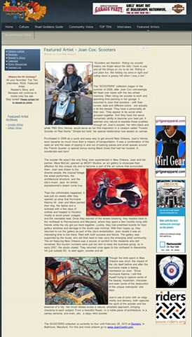 Featured Artist Article in HELMET HAIR Magazine