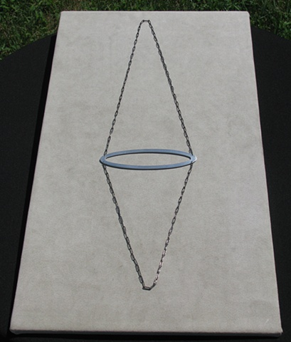 Horizontal oval