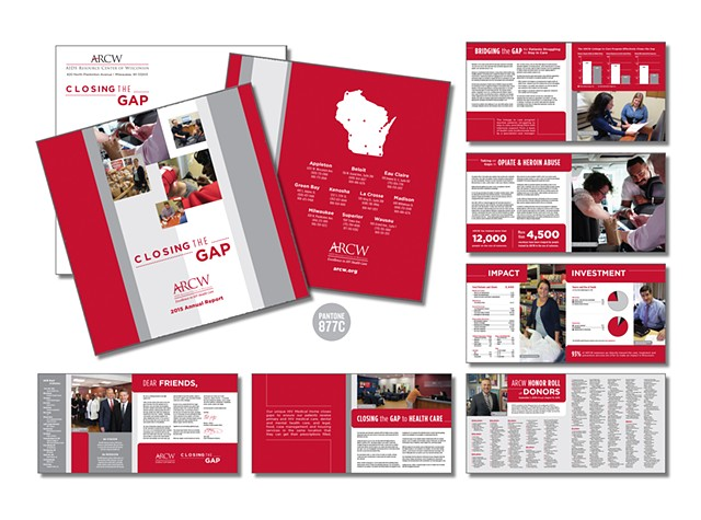 AIDS Resource Center of Wisconsin  Closing the Gap 2015 Annual Report  January 2017