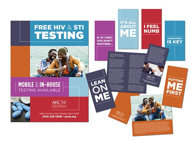 AIDS Resource Center of Wisconsin  Community Promise (Prevention) Marketing - Poster and Booklets  October 2017
