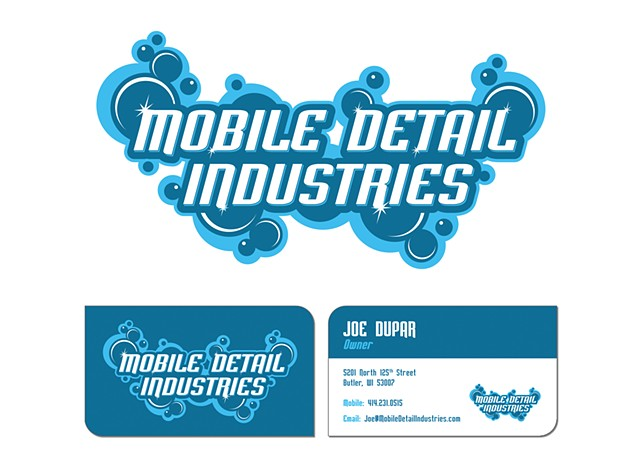 Mobile Detail Industries  May 2015