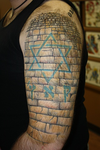 Edward r shaw steve 39 s wailing wall for Steve s tattoo