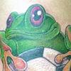 Soccer frog
