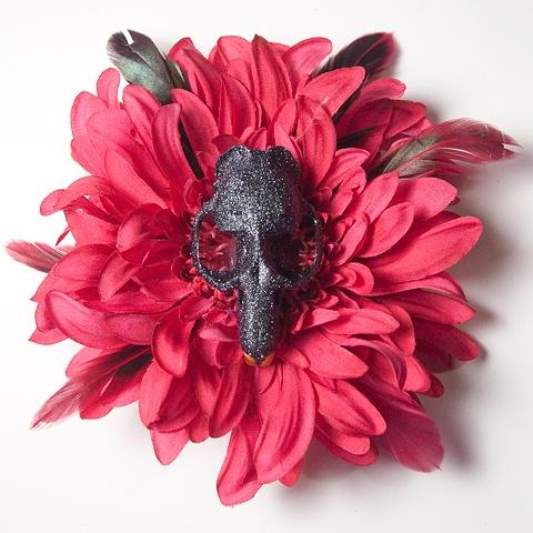 skull flower 13
