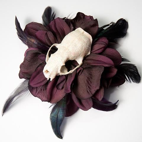 skull flower 23