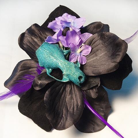 skull flower 10