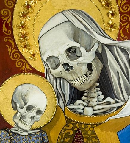 skeleton madonna  2 detail