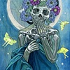 Santa Muerte of the Moon
