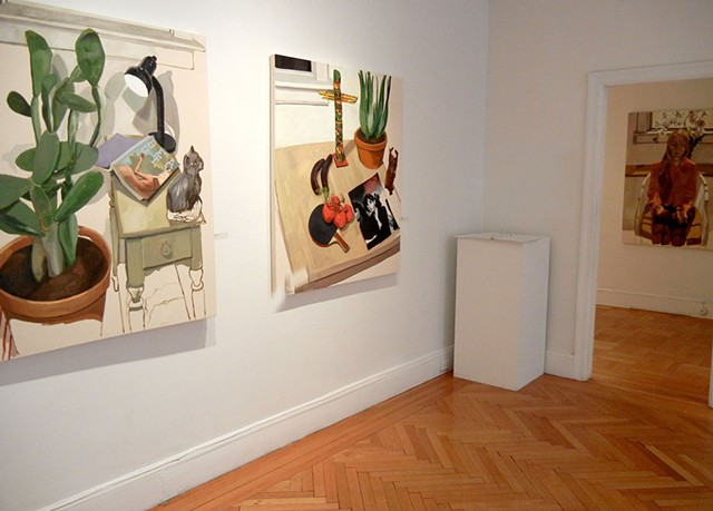 Installation view at Felicity R. Bebe Benoliel Gallery in Philadelphia