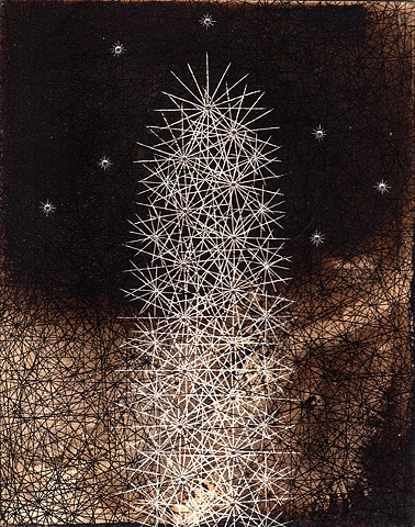 Untitled (cactus drawing 3)
