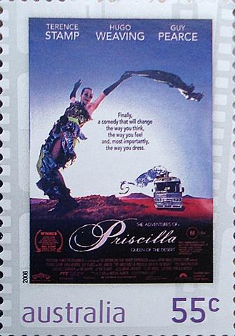 australia stamp priscilla queen of desert