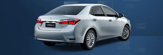 Toyota corolla web