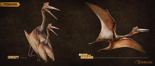 pterosaurus :  Walking with dinosaurs 3d movie