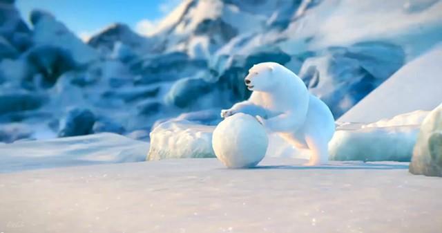 coca cola snowbear matte,